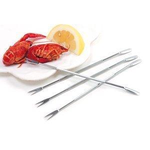 Progressive Stainless Steel Seafood Pick, Set of 4