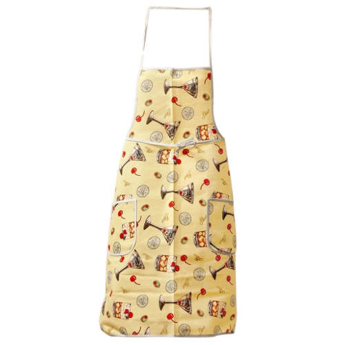 Happy Hour Cocktails Kitchen Apron