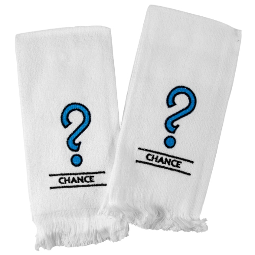 Chance Embroidered Fingertip Towel, Set of 6
