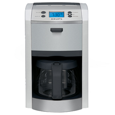 Krups Die Cast 12 Cup Programmable Coffee Maker