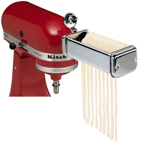 KitchenAid 3 Piece Stainless Steel Pasta Roller & Cutter Attachment Set