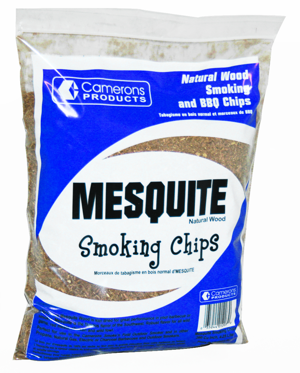 Camerons Smoke n Fold Smoking Chips Mesquite 2 Pound