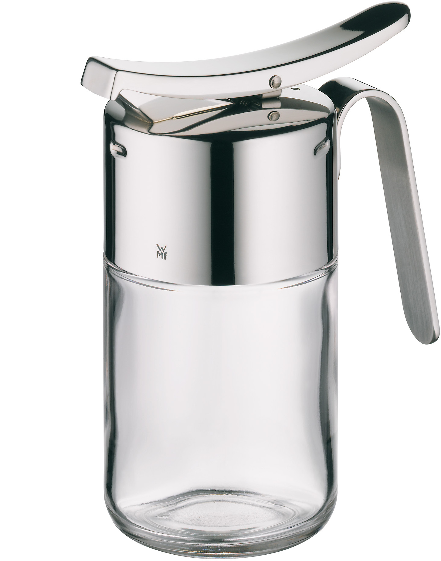 WMF 18/10 Stainless Steel and Glass Syrup Dispenser
