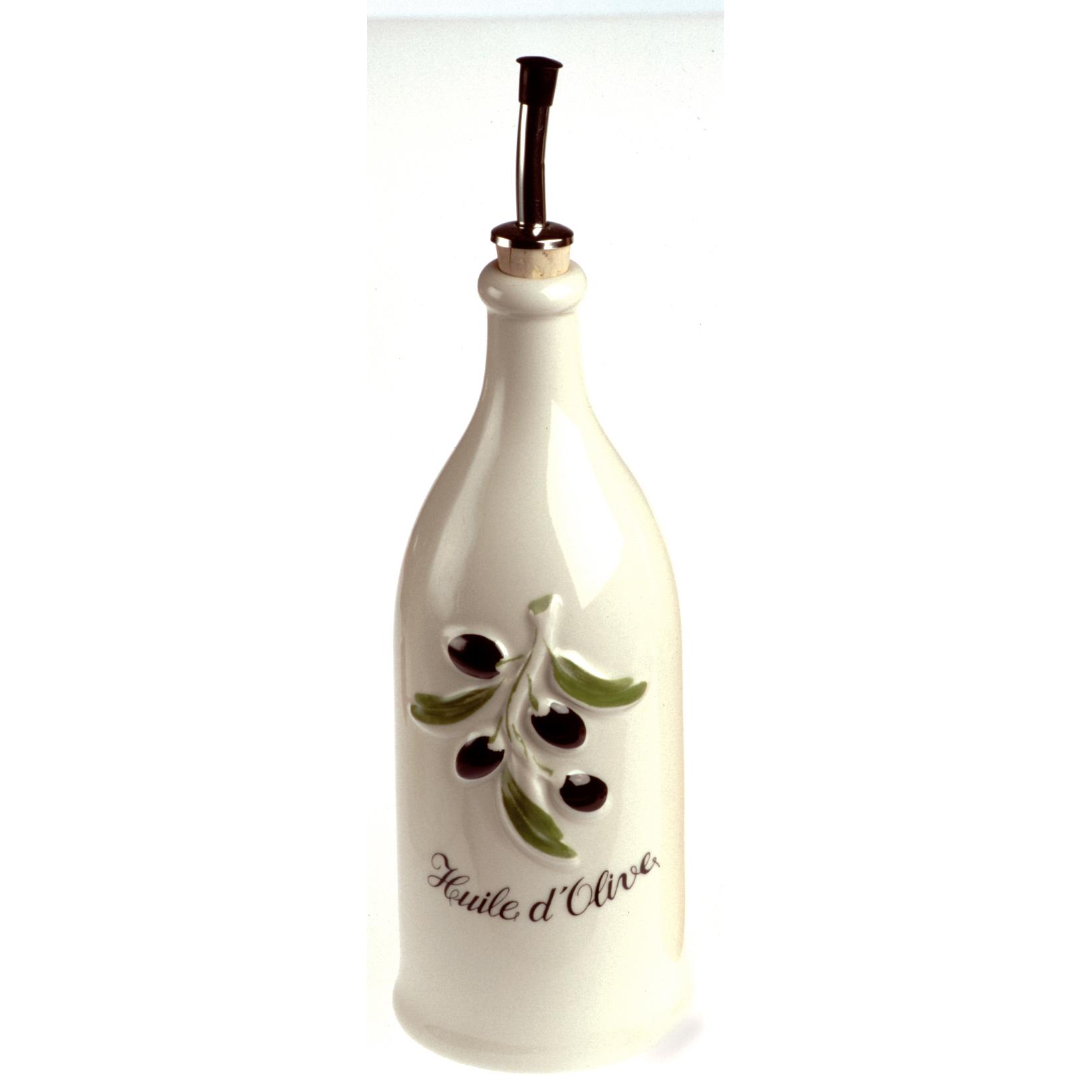 Revol French Classique Provence Cream Porcelain 26.5 Ounce Olive Oil Bottle