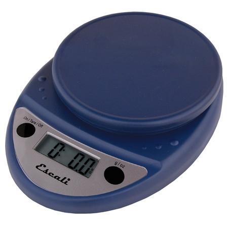 Escali Primo Royal Blue Digital Scale 11 lb / 5 Kg