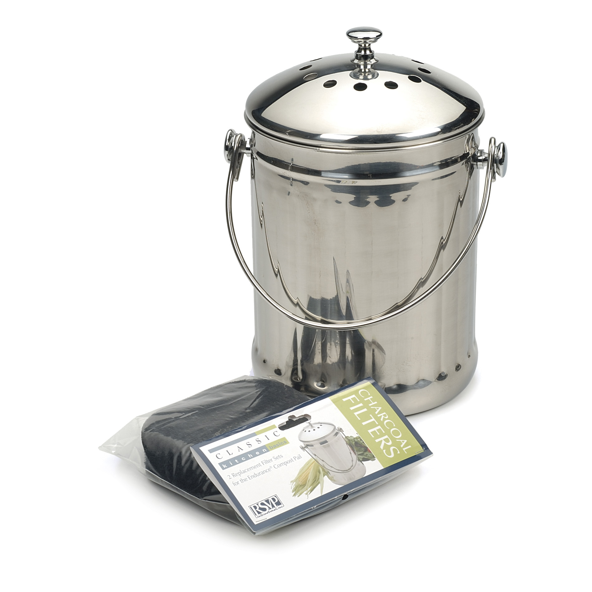 Endurance Stainless Steel Compost Pail