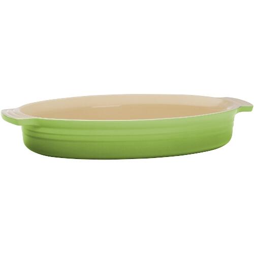 Le Creuset Kiwi Stoneware Oval Baking Dish 3.75 Quart