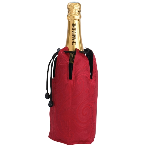 Peugeot Champ'Cool Wine Cooler Sleeve Red Demask