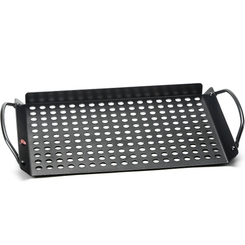 Outset Non-Stick Grilling Grid with Handles