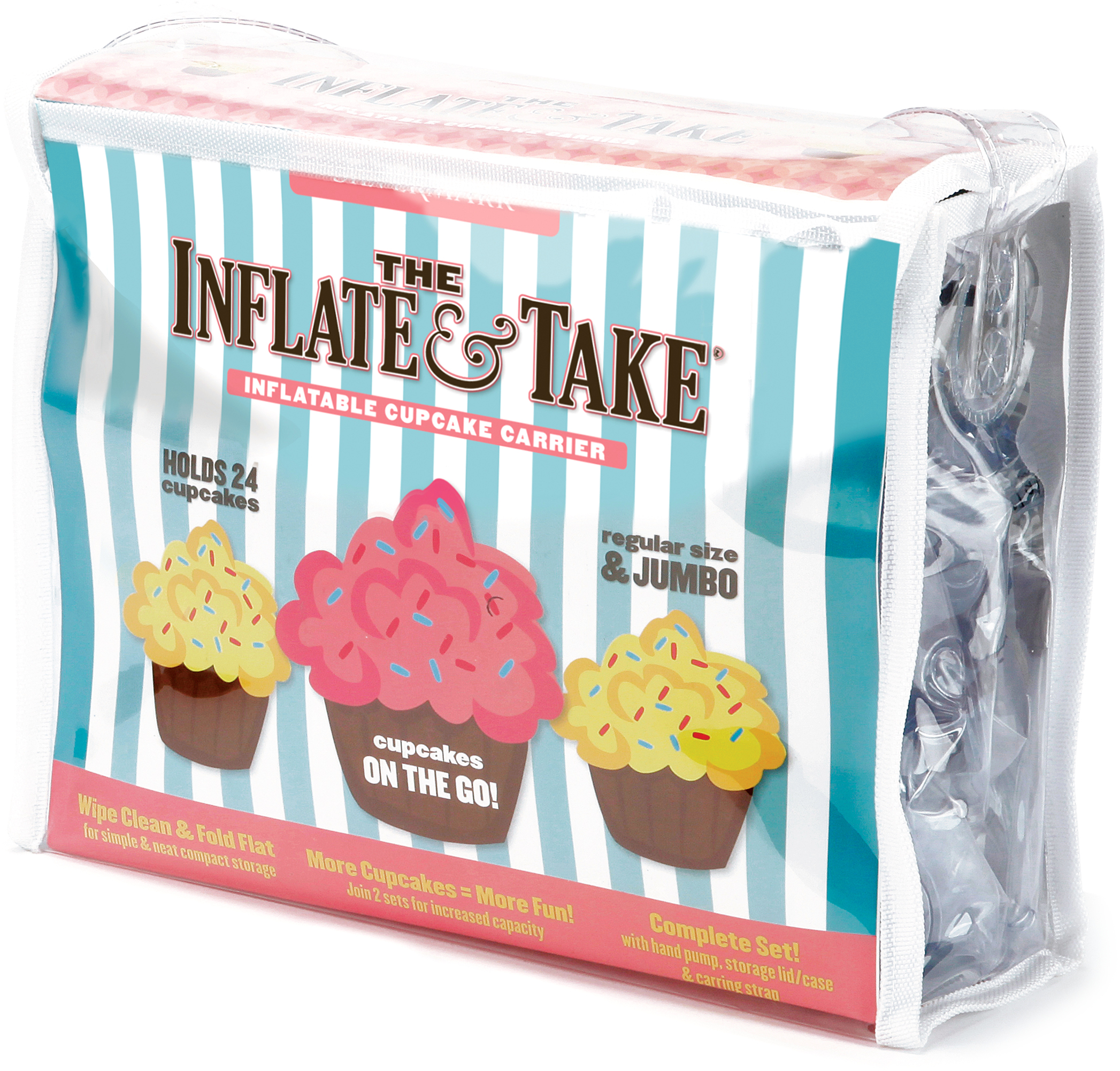 Silvermark Inflate and Take Cupcake Carrier