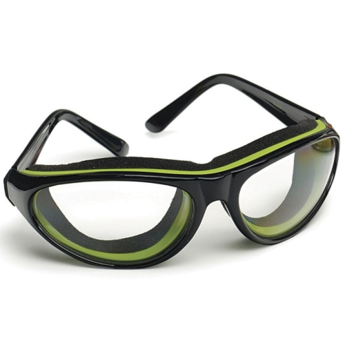 RSVP Green and Black Tear Free Anti-Fog Onion Goggles