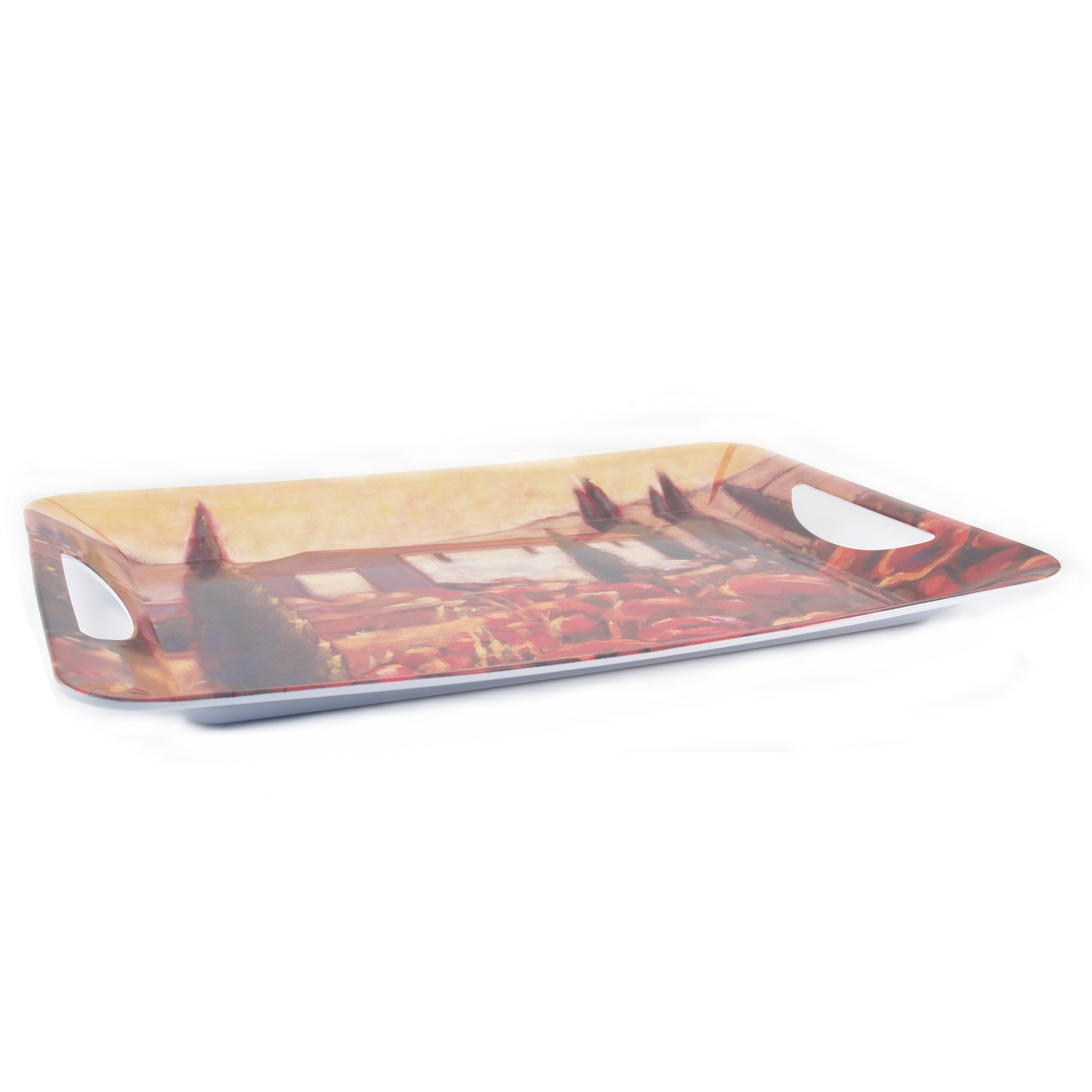 L'Allegria Italiano Large Melamine Luxury Serving Tray