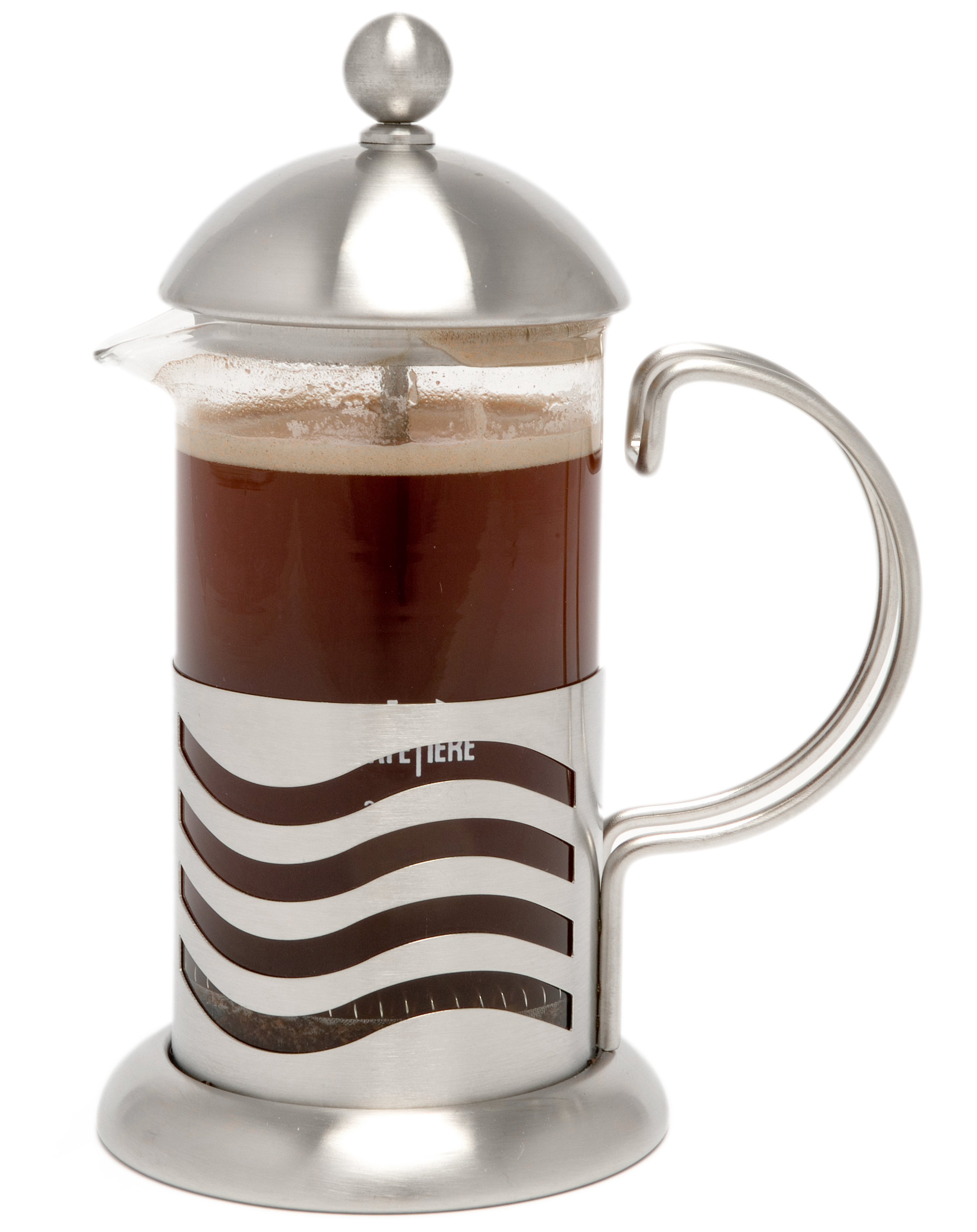 La Cafetiere Wave Stainless Steel French Press 3 Cup