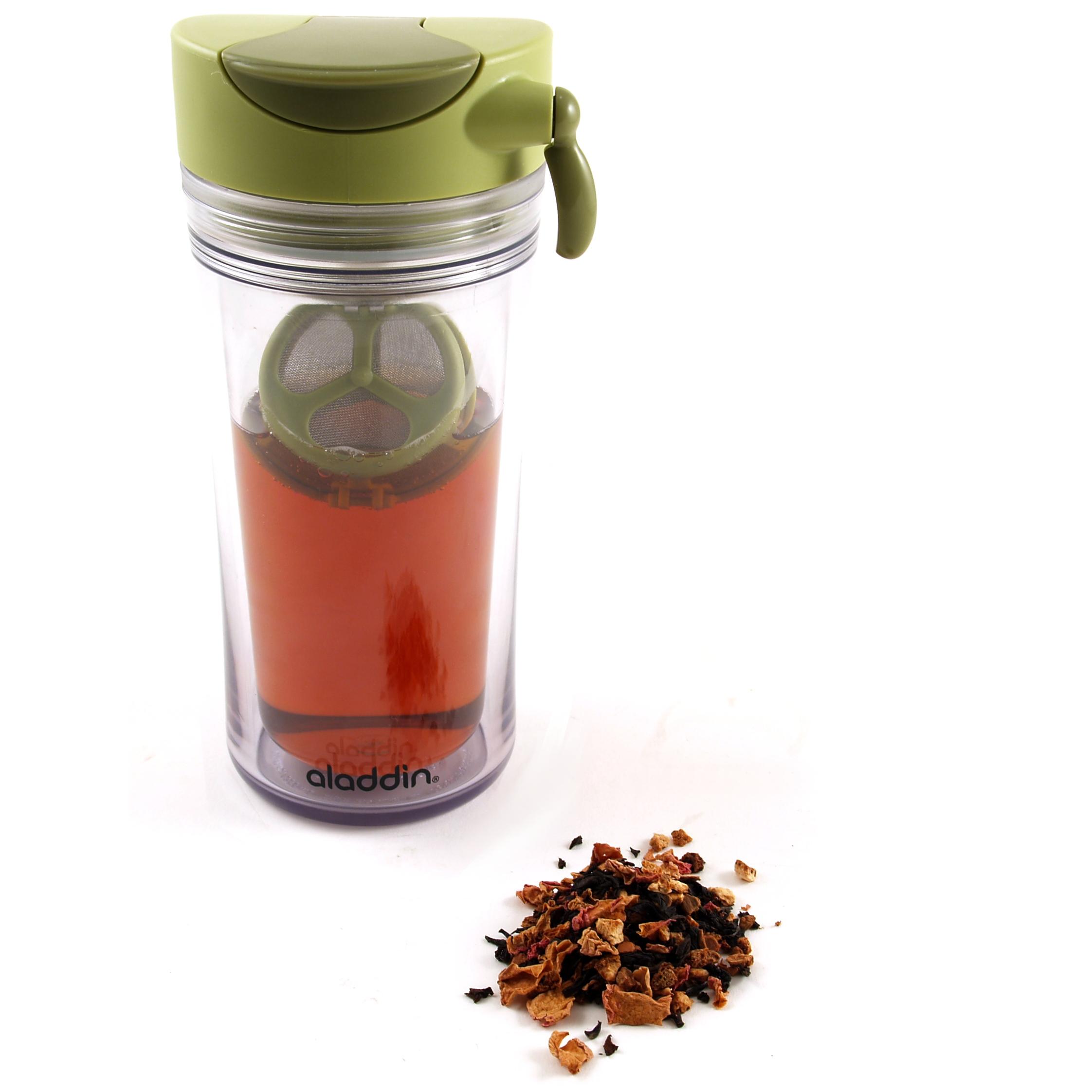Aladdin Essential Green Infuser Mug, 12 Ounce