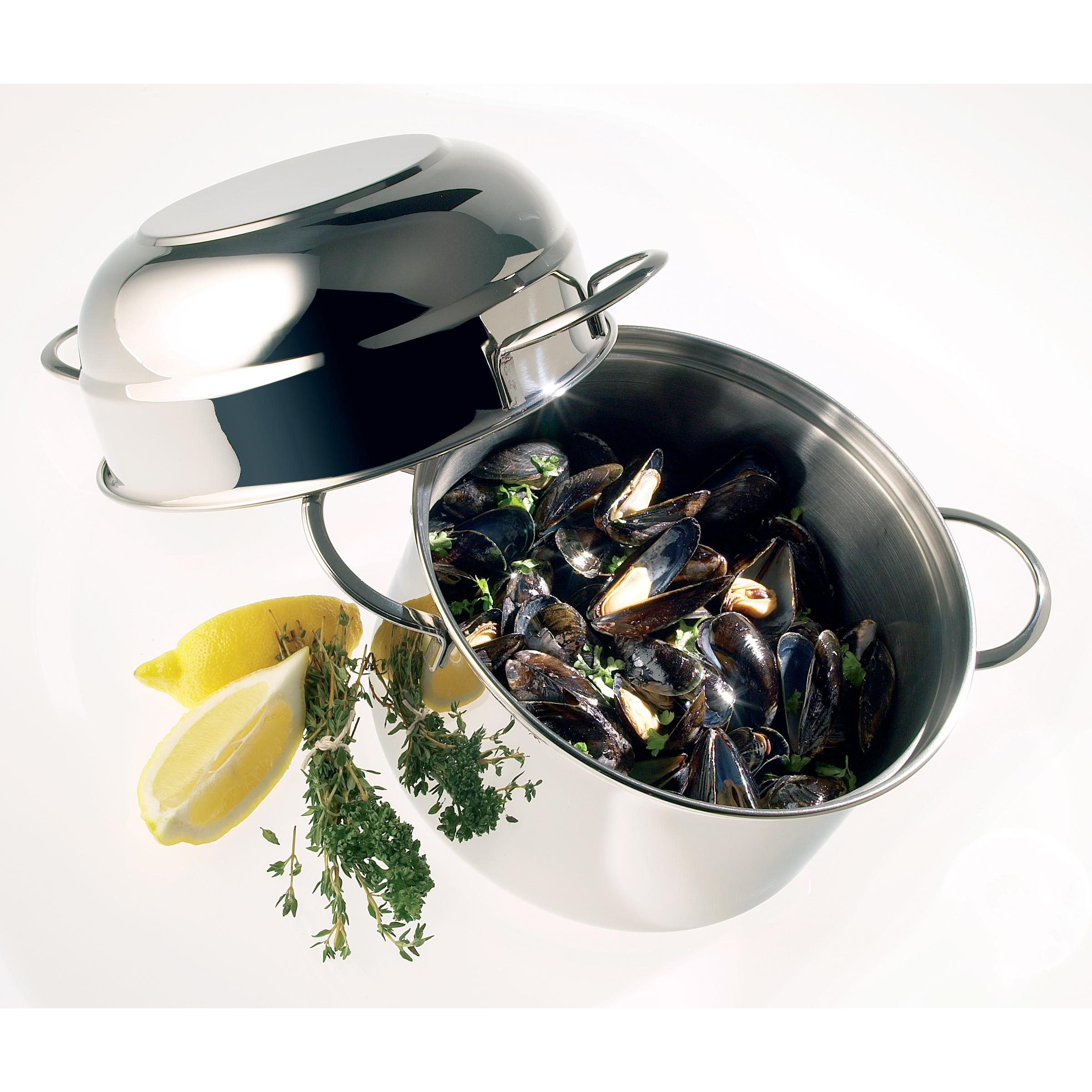 Demeyere Resto Mussel Pot, 3.2 Quart