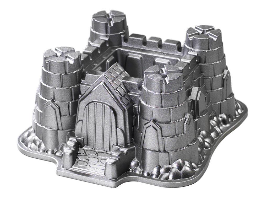 Nordic Ware Pro Cast Bakeware Castle Bundt Cake Pan