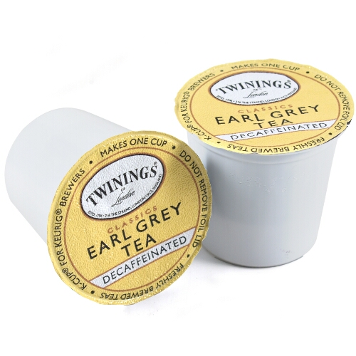 Twinings Earl Grey Decaf Tea Keurig K-Cups, 12 Count