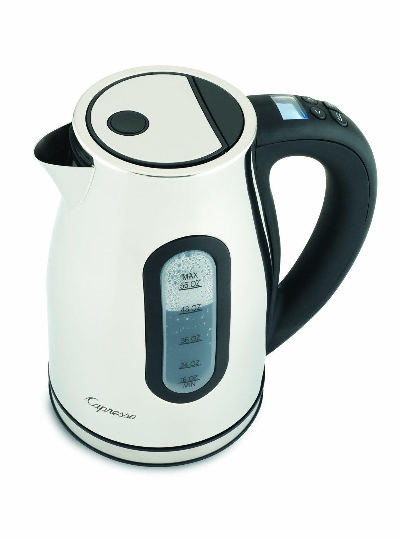 Capresso H2O Pro White Cordless Water Kettle