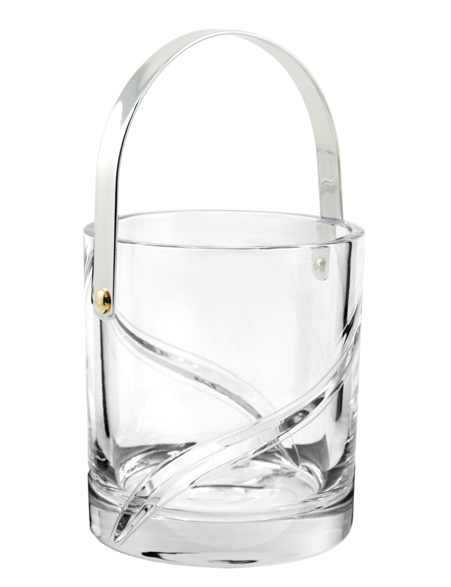 Samobor Butterfly Full Lead Crystal Ice Bucket