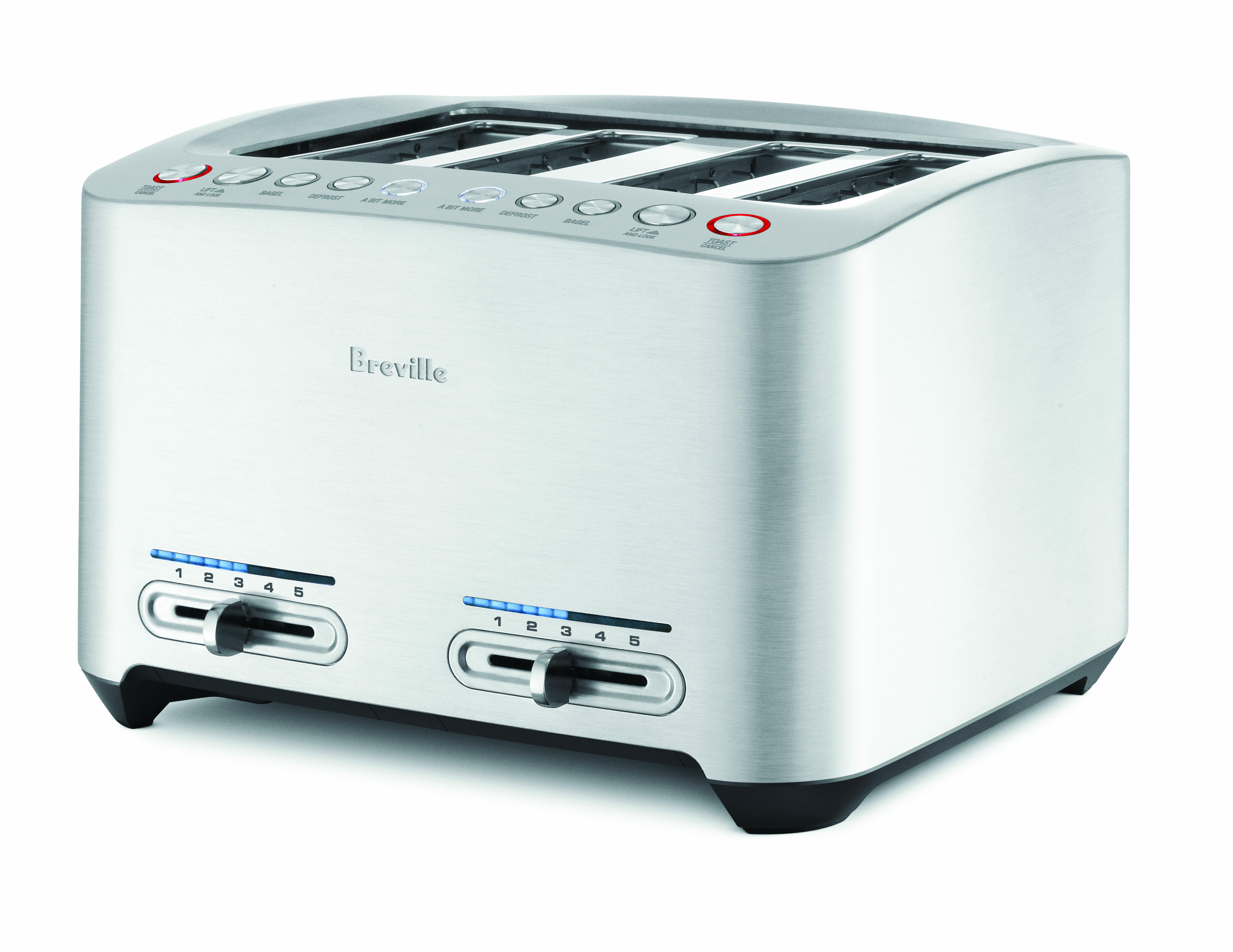 Breville Die-Cast 4 Slice Smart Toaster