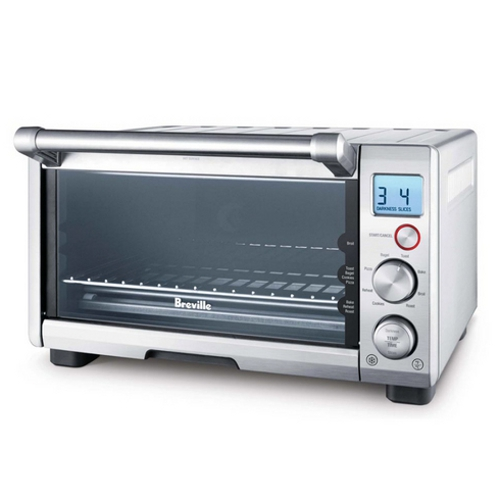Breville Compact Smart Brushed Stainless Steel Toaster Oven