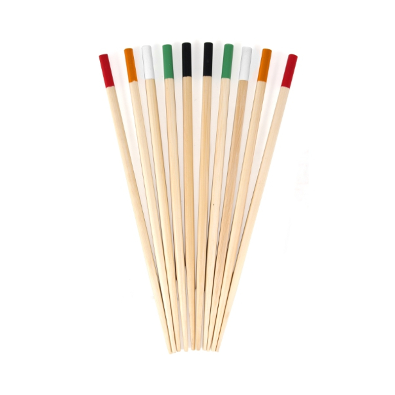 PAO! Color Coded Bamboo Chopsticks, 5 Pairs