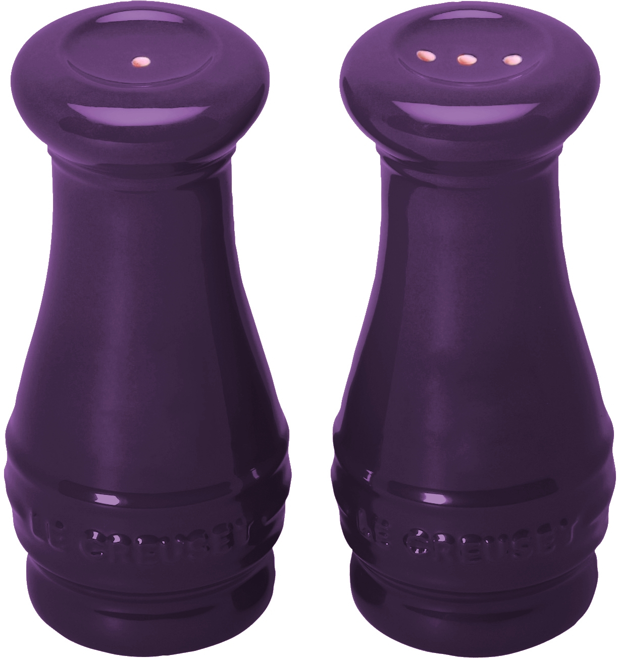 Le Creuset Cassis Stoneware Salt and Pepper Shaker Set