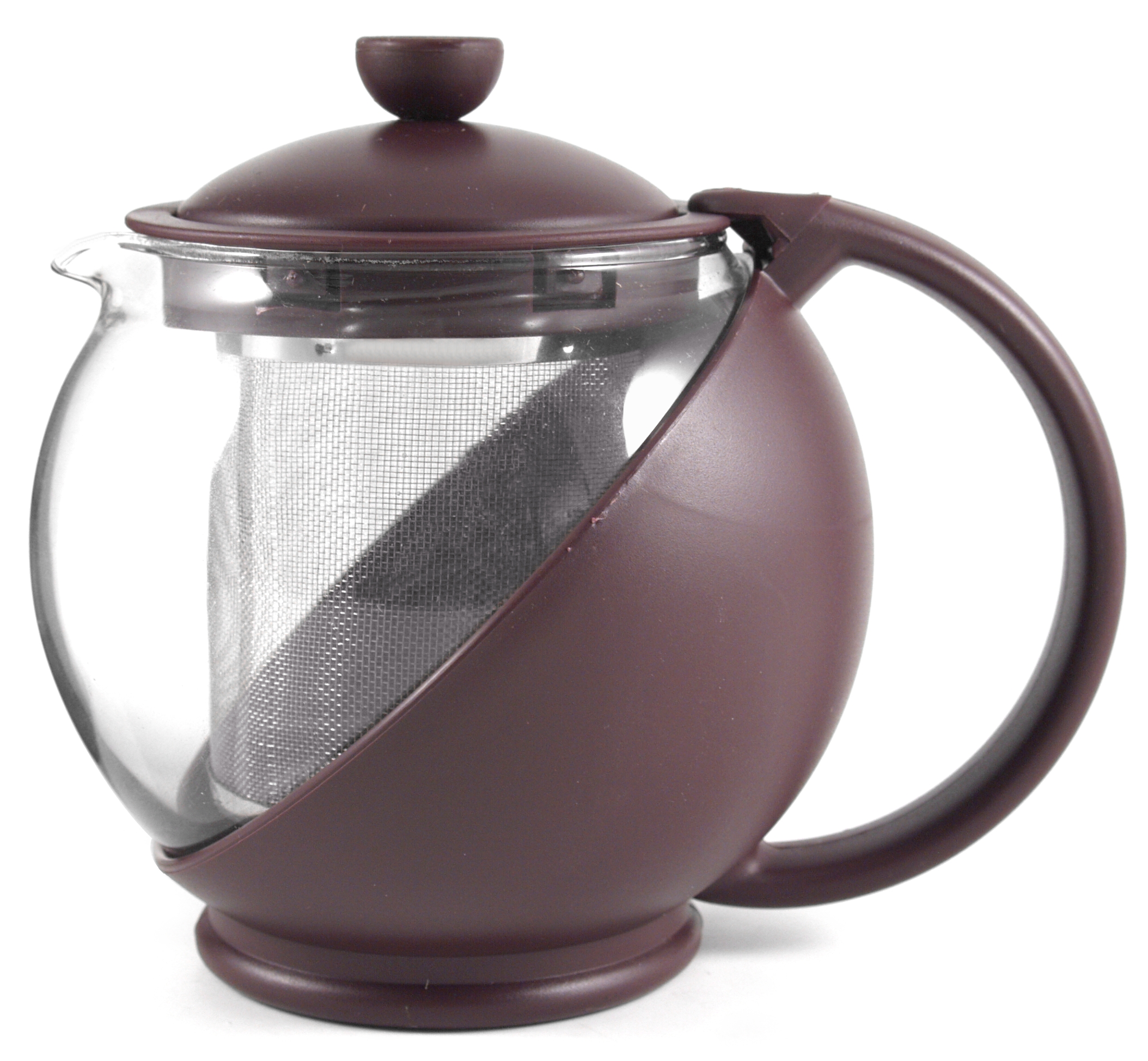 Purple Plum Multi-function Teapot W/infusertea Pot 16oz