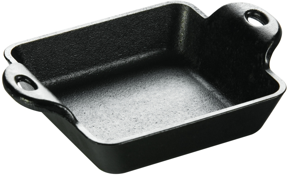 Lodge Logic Cast Iron Square Miniature Serving Dish