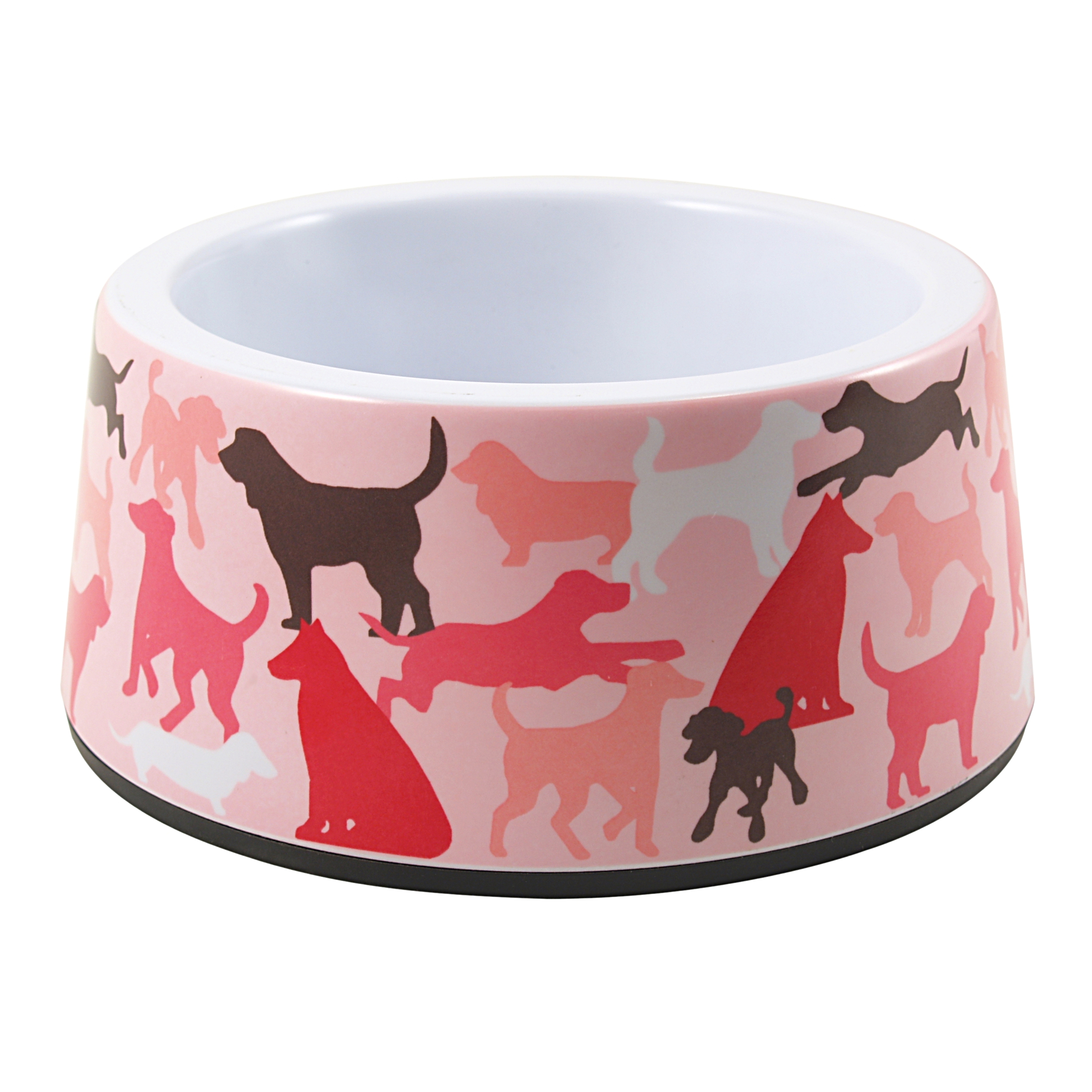 Anchor Hocking Melamine Pretty Pink 3.5 Cup Dog Bowl