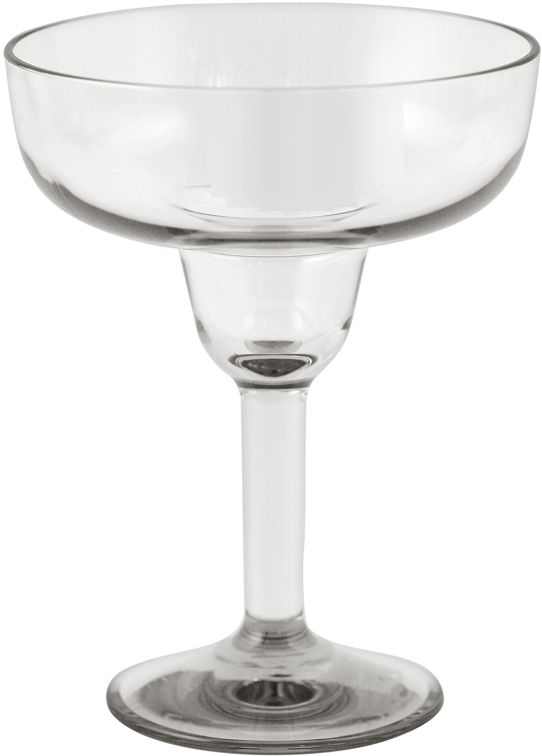 Strahl Design+ Contemporary Clear Margarita Glass, 16 Ounce
