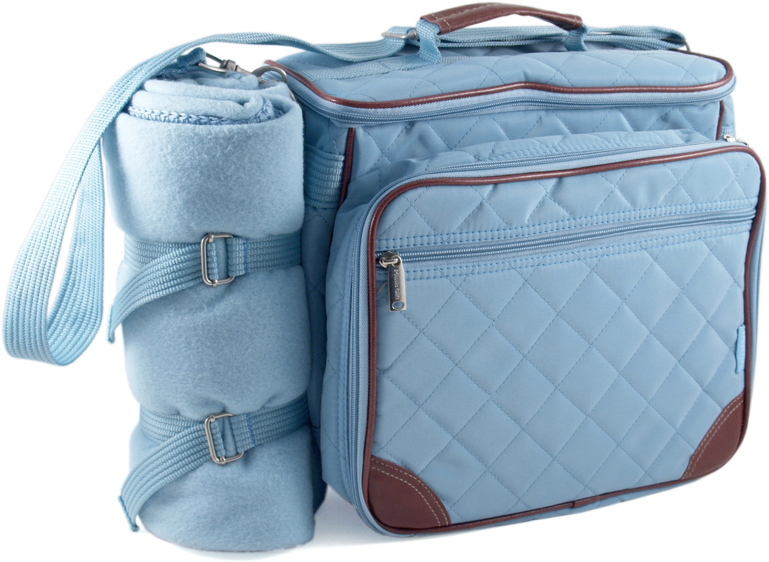 baby boo blue deluxe insulated diaper bag. Black Bedroom Furniture Sets. Home Design Ideas