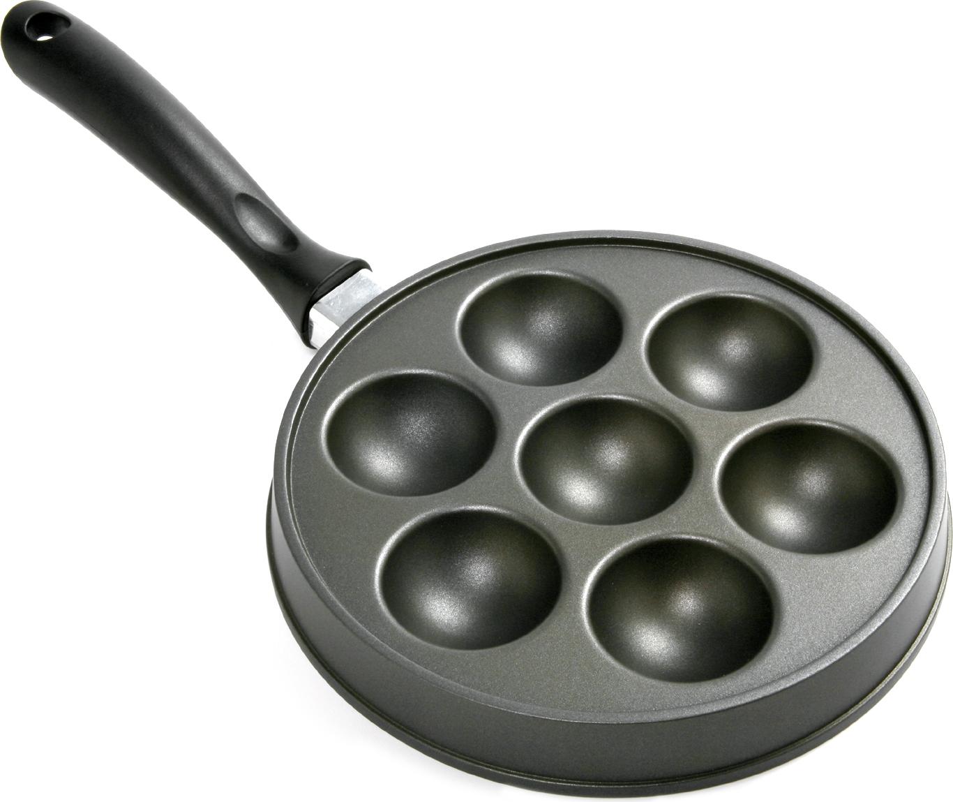 Norpro Nonstick Danish Ebleskiver Stuffed Pancake Pan, 9 Inch