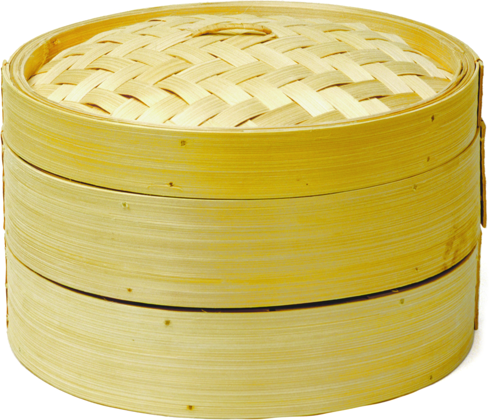 Norpro Two Tier Natural Bamboo Steamer with Lid