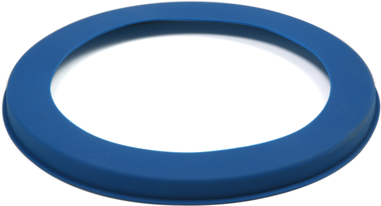 Norpro Blue Silicone 10 Inch Pie Crust Shield