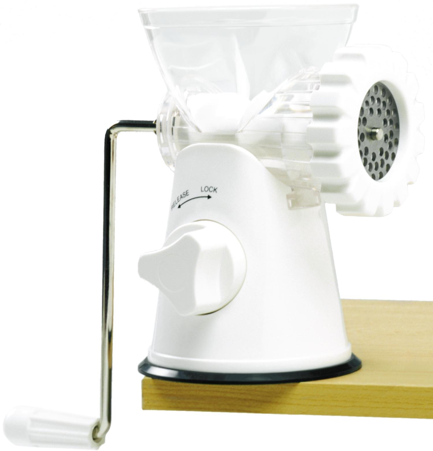 Norpro White Mincer/Meat Grinder/Pasta Maker