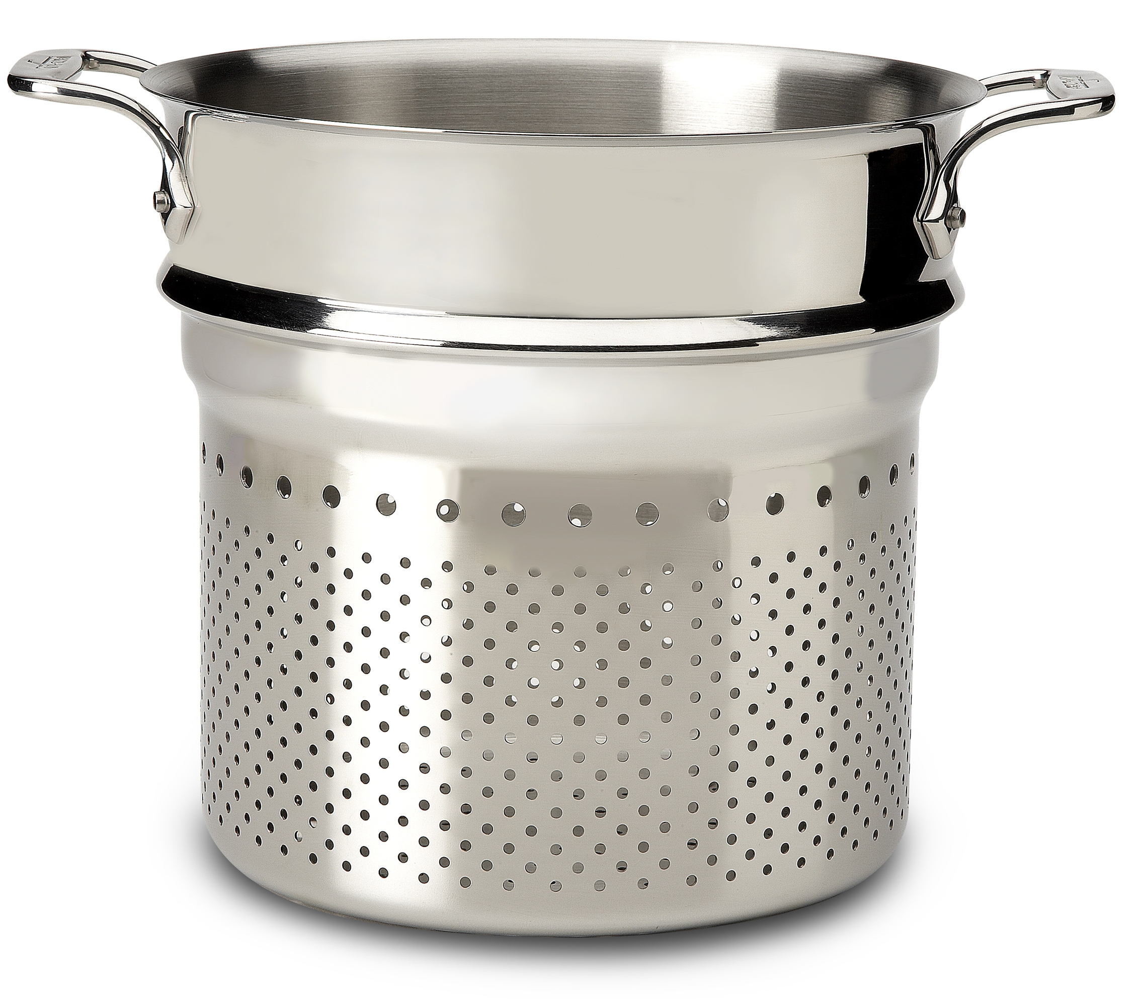 All-Clad Stainless Steel Pasta Strainer, 7 Quart