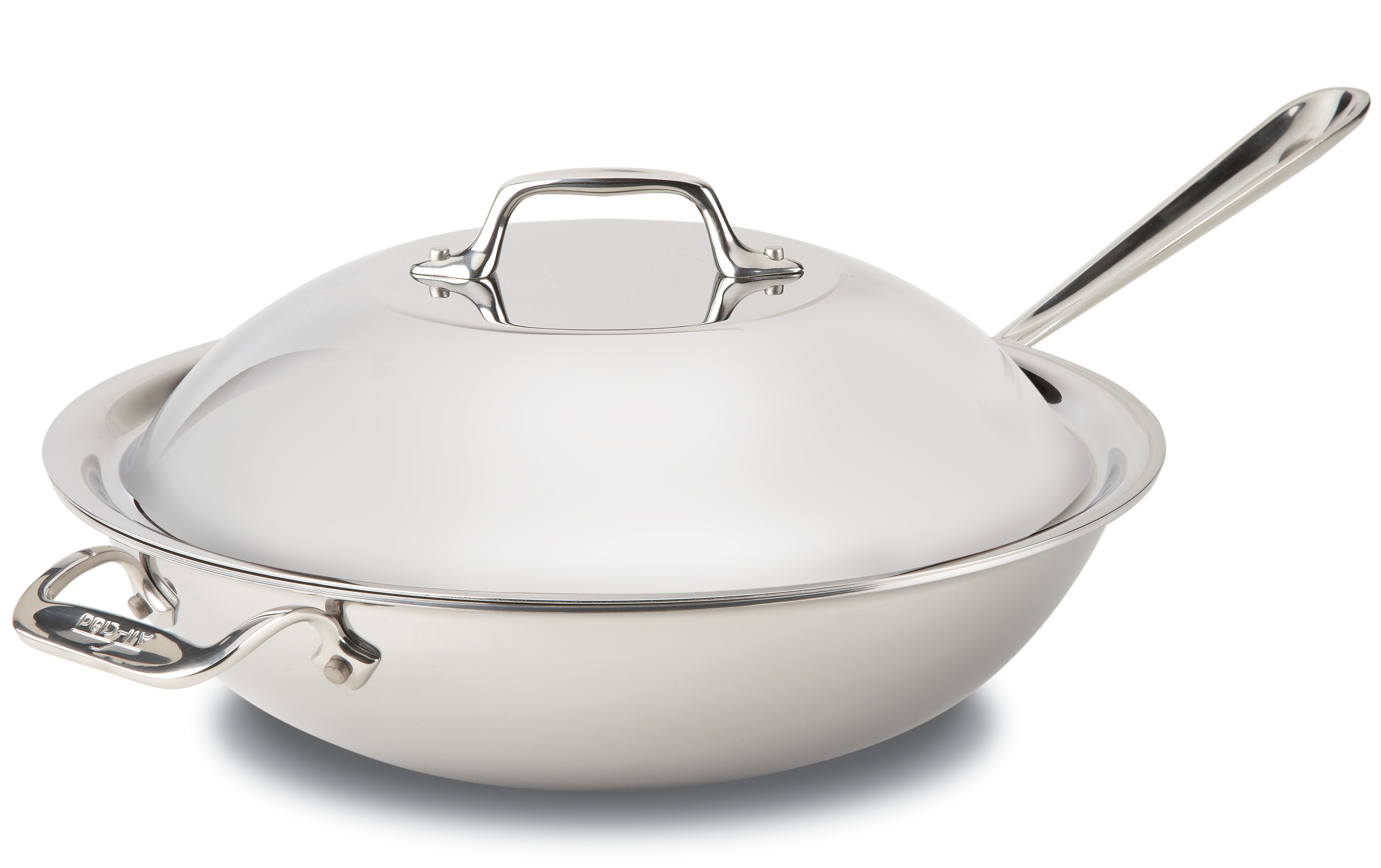 All-Clad Stainless Steel Chef's Pan With Domed Lid, 12 Inch