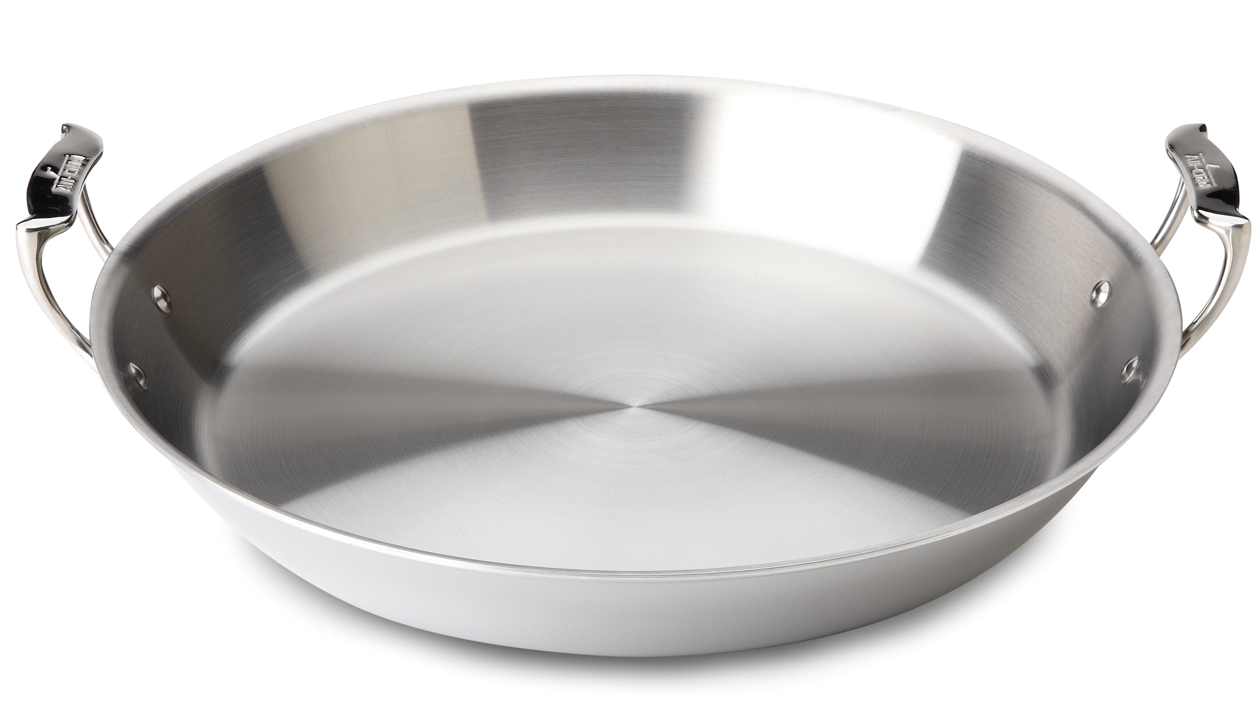 All-Clad Stainless Steel Paella Pan, 16 Inch