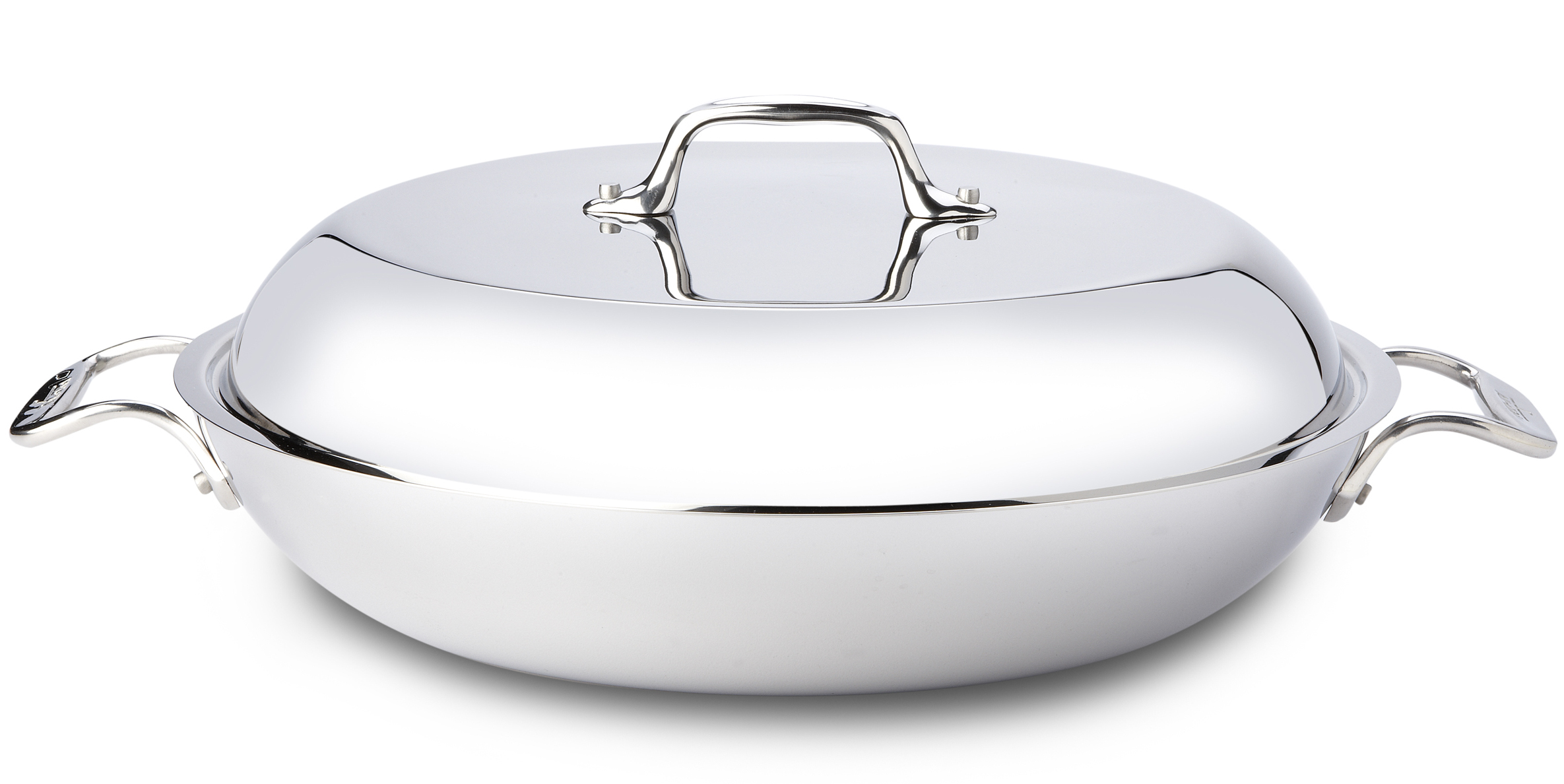 All-Clad Stainless Steel Braiser With Domed Lid, 4 Quart