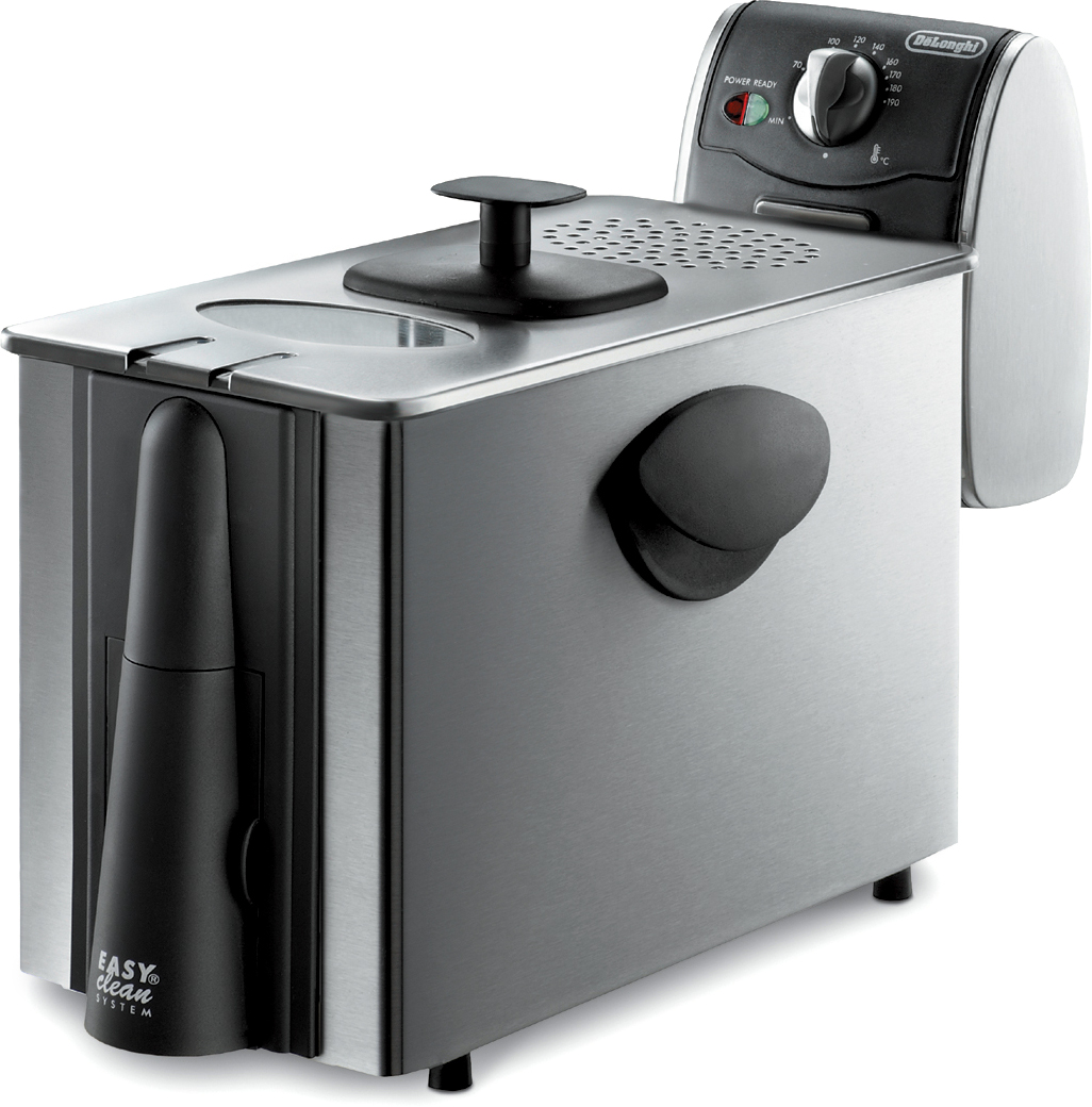 DeLonghi Dual Zone-3 Stainless Steel Electric Fryer, 3 Pound