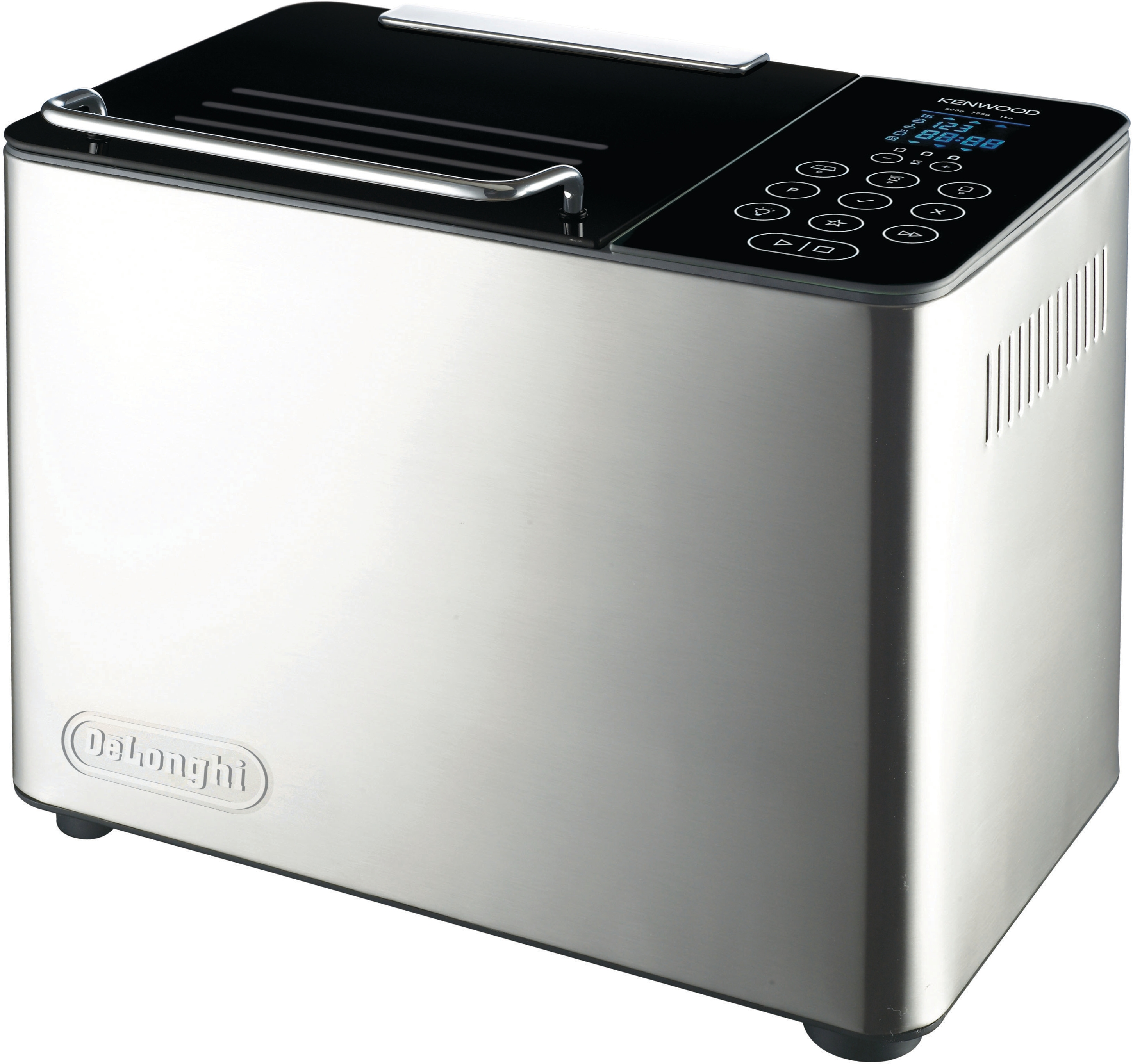 DeLonghi Brushed Stainless Steel Bread Maker