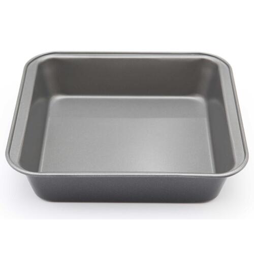 Kaiser Bakeware Noblesse Steel Square Cake Pan, 8 Inc