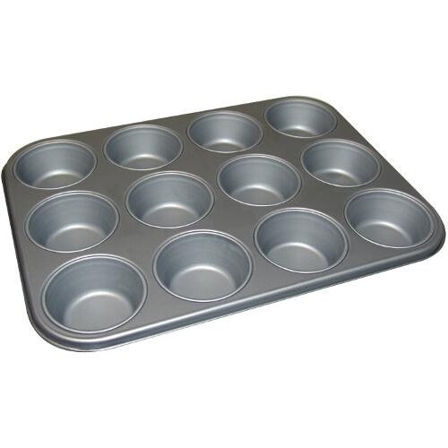 Kaiser Bakeware Steel Muffin Pan, 12 Cup