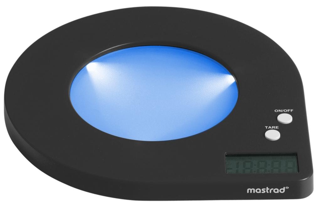 Orka Black Digital Scale