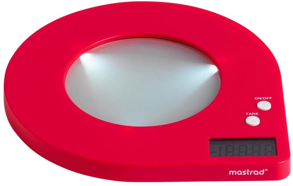 Orka Red Digital Scale
