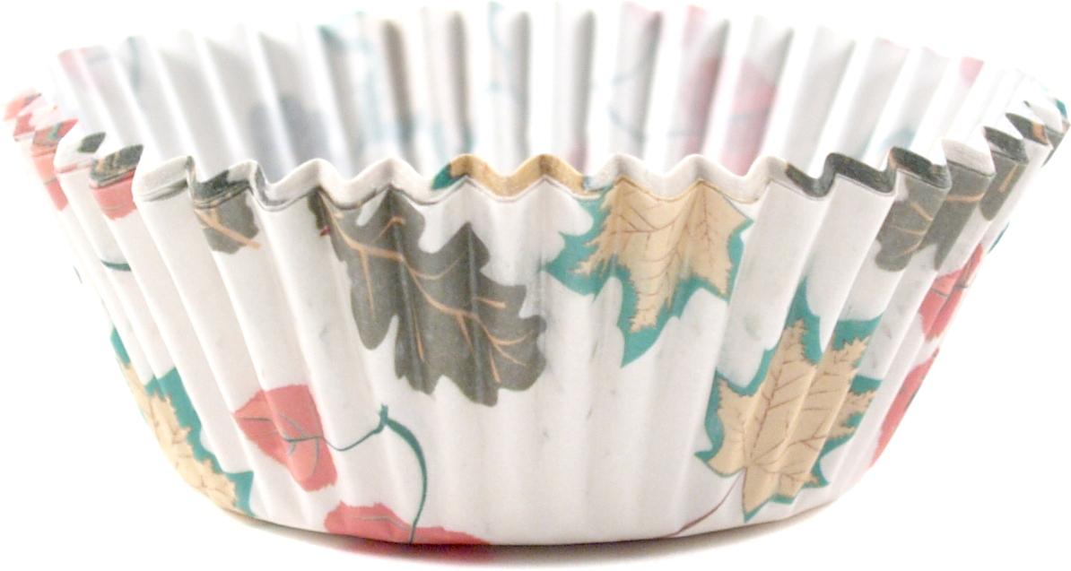 Fox Run Fall Leaves Baking Cup, Set of 50