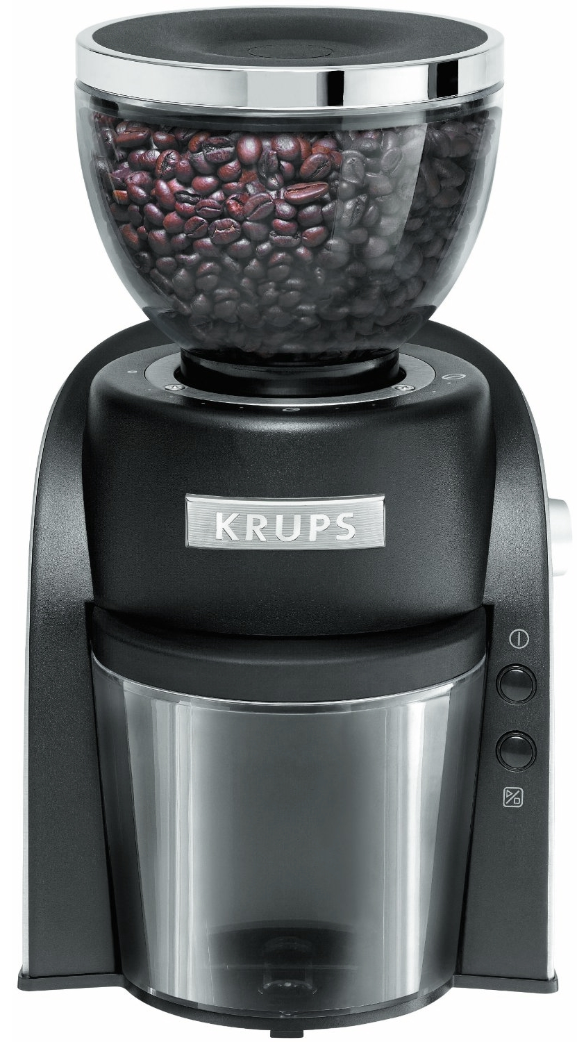 Krups Black Conical Burr Grinder