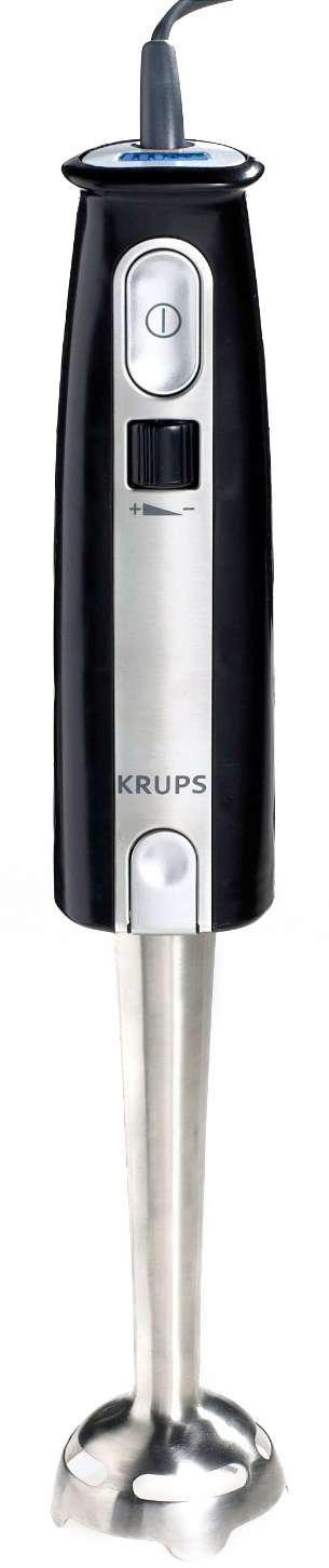 Krups  Black Immersion Blender with Accessories
