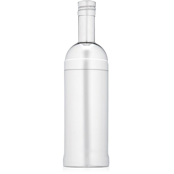 Lenox Gorham Thats Entertainment Stainless Steel Bottle Shaped Cocktail Shaker